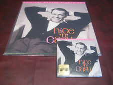 FRANK SINATRA'S NICE N EASY MFSL 180 GRAM AUDIOPHILE LP + 24 KARAT GOLD CD SET