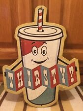Thirsty Home Theater Kitchen Lobby Drive In Cinema Popcorn Stand Poster Movie