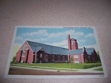 1930s FIRST METHODIST CHURCH SCOTTSBLUFF NEBRASKA NE. LINEN POSTCARD
