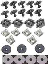 Audi s4 a4 quattro Engine Protection Pan Hardware Installation Kit 27 piece New