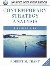 FAST SHIP - GRANT 8e Contemporary Strategy Analysis: Text and Cases (No Code FG8