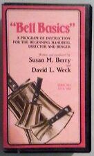 BELL BASICS instruction for beginning handbell director & ringer  VHS VIDEOTAPE