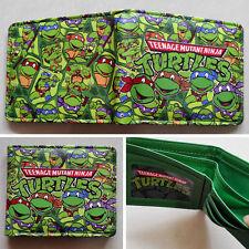 Teenage Mutant Ninja Turtles TMNT Logo 12cm Leather Wallets Purse #3