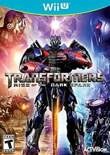 Transformers Rise of the Dark Spark Wii U *BRAND NEW & SEALED* SAME DAY DISPATCH