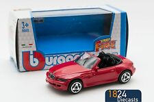 BMW M3 Roadster Red, Bburago 18-30000, scale 1:43, toy car model boy gift