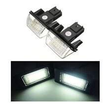 18 SMD PEUGEOT 206 206CC 206SW NUMBER PLATE LED REPLACEMENT UNITS 1 X PAIR 6000K