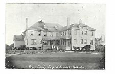 """""""WALKERTON, ON"""" - Bruce County - General Hospital - Black and White PC"""