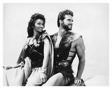 STEVE REEVES & CHELO ALONSO 8x10 still GOLIATH AND THE BARBARIANS -- (b341)