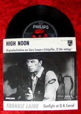 Single Frankie Laine High Noon Gary Cooper Cover 12 Uhr