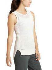 NWT Athleta Amity Vest, Bright White SIZE M   #213479