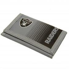 Oakland raiders nfl football américain nylon portefeuille fd