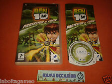 BEN 10 PROTECTOR OF EARTH PSP SONY PLAYSTATION COMPLET PAL