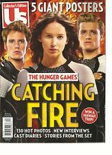 HUNGER GAMES, CATCHING FIRE  US, COLLECTOR'S EDITION, 2013 ( 5 GIANTS POSTERS