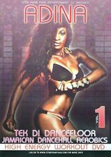 ADINA JAMAICAN DANCEHALL AEROBICS HIGH ENERGY WORKOUT DVD EXERCISE DANCING NEW