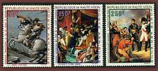 1969 HAUTE VOLTA PA N°70/72** NAPOLEON TABLEAUX  UPPER VOLTA PAINTING MNH C 19€