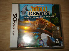 NINTENDO DS SCHOLASTIC ANIMAL GENIUS QUANTE COSE SAI SUGLI ANIMALI? IN ITALIANO