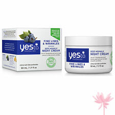 Yes To Blueberries Deep Wrinkle Night Cream 50ml **FREE P&P**