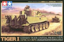 Tamiya 1/48 Tiger I Initial - Africa # 32529