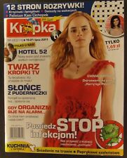 EMMA WATSON  mag.FRONT cover 2011 Poland Harry Potter