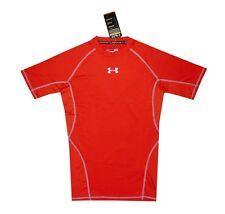 NEW! AUTHENTIC MEN'S DRI-FIT/ COMPRESSION T SHIRT (RED, SIZE XL)
