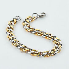 Gold silver Stainless Steel bracelet chain Sydney stock