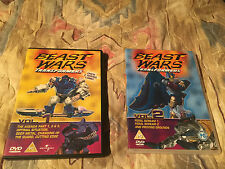 Transformers Beast Wars Volume 1 & 2 DVD
