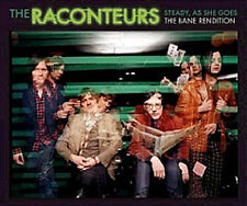 THE RACONTEURS CD Steady As She Goes / Bane + UNIQUE TRK Jack White Stripes NEW