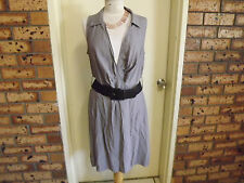 BNWT Sussan Sleeveless Wrap-around Dress sz 16 RRP $119.95