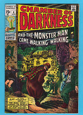 Chamber of Darkness #4 Marvel Comics 1970 Proto Conan Story by Barry Smith NM