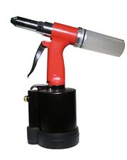 "ATD Tools 1/4"" Hydraulic Air Riveter Pop Rivet Gun 1/8"", 5/32"", 3/16"",1/4"" Nose"