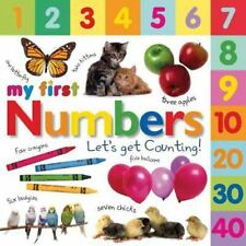 My First Numbers : Let's Get Counting! by Dorling Kindersley Publishing Staff...