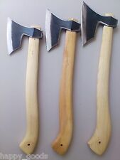 Handmade Viking Hatchet Axe Set of 3 pcs/ Camping Forest/ P24SML/ Wildlife Tools