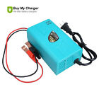12V 6A Motorcycle Car Boat Marine RV Maintainer Battery Automatic Charger (Blue)