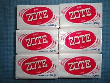 LOT of 6 Zote BIG BARS 14.1 oz Pink Laundry Fish Bait Mosquito Repel
