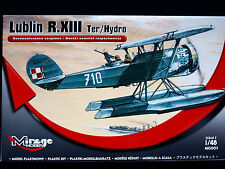 LUBLIN R. XIII TER/HYDRO RECONNAISSANCE SEAPLANE, MIRAGE HOBBY, SCALE 1/48