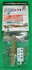 LAST F-Toys Twin Engine Henschel Hs 129 Tropical NMIB 1:144 WW2 Model Aircraft
