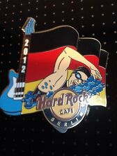 HRC HARD ROCK CAFE Berlino Sports Flag Series pin 2012, le 250