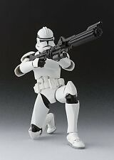 BANDAI S.H.Figuarts Star Wars Clone Trooper Phase 2 Action Figure Japan Import