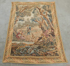 Vintage French Beautiful Scene Tapestry 111x82cm (A249)