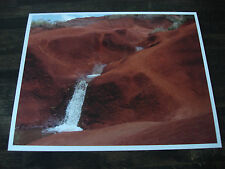 HAWAII RED SOIL WATERFALL 8 x 10 LIMITED EDITION METALLIC FINISH PHOTO 1 of 100