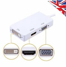 3 in 1 Thunderbolt a HDMI/DVI/VGA Adattatore Per Apple MacBook Pro Air Mac