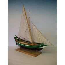 "Elegant, finely detailed wooden model ship kit by Soclaine: the ""St Gilles"""