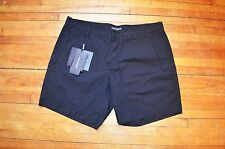DOLCE & GABBANA RUNWAY BLACK CLASSIC DRESS CASUAL SHORTS S 50 34 MADE IN ITALY