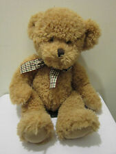 "RUSS TEDDY BEAR TAN DOUGLAS 15"" TALL PLUSH STUFFED ANIMAL #35643"