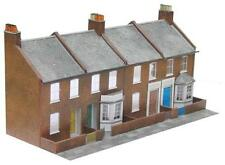 Superquick RED BRICK TERRACED FRONTS Card Building Model Kit C6 00/HO Gauge