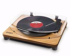 ION Audio Classic LP Record Player - Vinyl turntable with USB - Wood