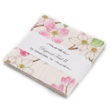 "DOGWOOD TRAIL II Charm Pack, Moda, Precut 5"" Squares, Cotton Quilting Fabric"