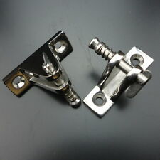 2X Stainless Steel Deck Hinge Boat Bimini Top Fitting 90 Degree Quick Pin
