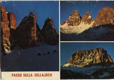 Alte Postkarte - Passo Sella - Sellajoch