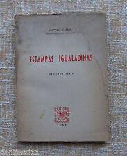 Estampas igualadinas Segunda Serie, Antonio Carner, año 1955, Centro de Estudios